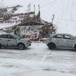 Tata Nexon Spotted at Khardung la Highest Motorable Pass