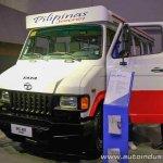 Tata SFC 407 Jeepney concept front three quarters