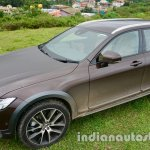 Volvo V90 Cross Country review front three quarter left