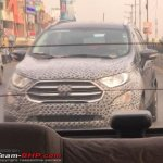 2017 Ford EcoSport facelift spied front view