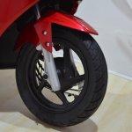 2017 Hero Maestro Edge Red at Nepal Auto Show front wheel