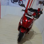 2017 Hero Maestro Edge Red at Nepal Auto Show front
