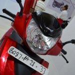 2017 Hero Maestro Edge Red at Nepal Auto Show headlamp