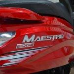 2017 Hero Maestro Edge Red at Nepal Auto Show side panel