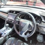 2017 Honda Civic Hatchback dashboard at GIIAS 2017
