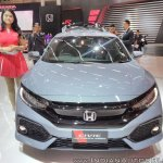 2017 Honda Civic Hatchback front at GIIAS 2017