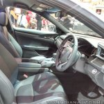 2017 Honda Civic Hatchback front seats at GIIAS 2017