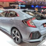 2017 Honda Civic Hatchback rear three quarters at GIIAS 2017