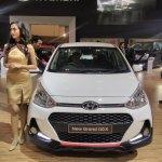 2017 Hyundai Grand i10X (facelift) front 2017 GIIAS Live
