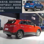 2017 Hyundai ix25 (2017 Hyundai Creta) rear three quarters at 2017 Chengdu Motor Show