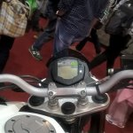 2017 KTM 200 Duke handlebars at GIIAS 2017
