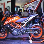 2017 KTM 390 Duke at Nepal Auto Show left side