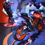 2017 KTM 390 Duke at Nepal Auto Show rear right quarter