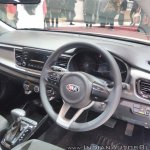 2017 Kia Rio dashboard at GIIAS 2017