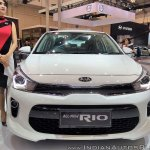 2017 Kia Rio front at GIIAS 2017