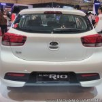 2017 Kia Rio rear at GIIAS 2017