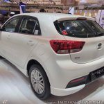 2017 Kia Rio rear three quarters at GIIAS 2017