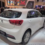 2017 Kia Rio rear three quarters right side at GIIAS 2017