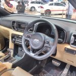 2017 Kia Sportage dashboard at GIIAS 2017
