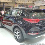 2017 Kia Sportage rear three quarters at GIIAS 2017