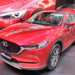 2017 Mazda CX-5 (2nd gen) front quarter at the 2017 GIIAS