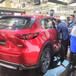 2017 Mazda CX-5 (2nd gen) rear quarter at the 2017 GIIAS