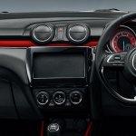 2017 Suzuki Swift Sport dashboard