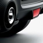 2017 Suzuki Swift Sport rear diffuser