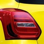 2017 Suzuki Swift Sport tail lamp