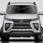 2018 Mitsubishi Delica front rendering