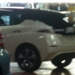 2018 Nissan Leaf rear three quarters undisguised spy shot