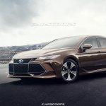 2019 Toyota Avalon front three quarters rendering