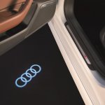 Audi A6 Design Edition puddle lamp projection