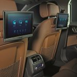Audi A6 Design Edition rear seat entertainment package