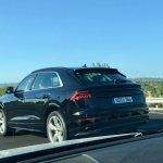 Audi Q8 spied testing rear production-spec exterior