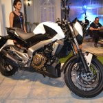 Bajaj Dominar 400 at Nepal Auto Show right side