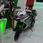 Benelli 302R at Nepal Auto Show front
