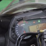 Benelli 302R at Nepal Auto Show instrument cluster