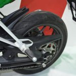 Benelli 302R at Nepal Auto Show rear tyre