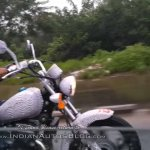 Benelli MotoBi 250 Patagonian Eagle spied headlamp and tank