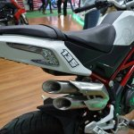 Benelli TNT 135 at Nepal Auto Show exhausts