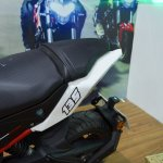 Benelli TNT 135 at Nepal Auto Show seats