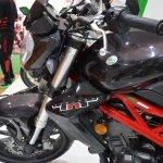 Benelli TNT 300 at Nepal Auto Show tank profile