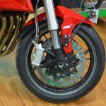 Benelli TNT 600i at Nepal Auto Show front brake