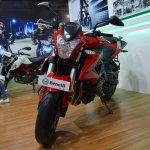 Benelli TNT 600i at Nepal Auto Show front