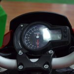 Benelli TNT 600i at Nepal Auto Show instrument cluster