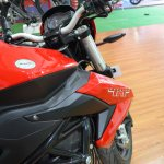 Benelli TNT 600i at Nepal Auto Show tank extensions