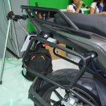 Benelli TRK 502 at Nepal Auto Show pannier frame
