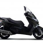 Benelli Zafferano 250 Black right side