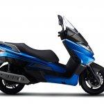 Benelli Zafferano 250 Blue right side